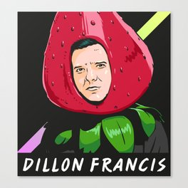 Strawberry Francis Canvas Print