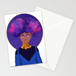 Space Witch Stationery Cards
