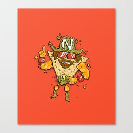 Nacho Man Canvas Print