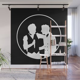 Happiest With You Wall Mural