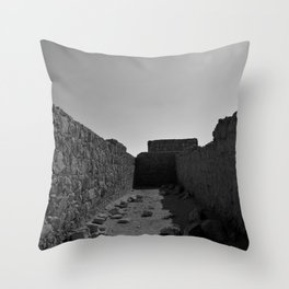 Masada Throw Pillow
