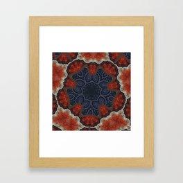 Better than Yours Colormix Mandala 14 Framed Art Print