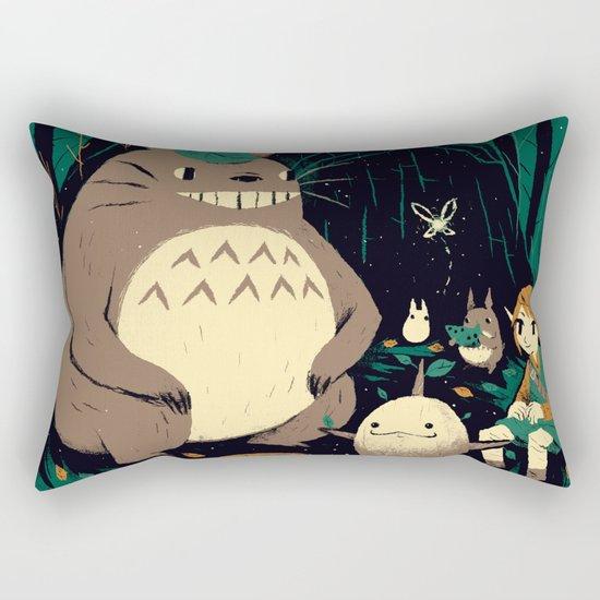spirits of the forest Rectangular Pillow