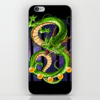 dragon ball iPhone & iPod Skins featuring Dragon by TxzDesign