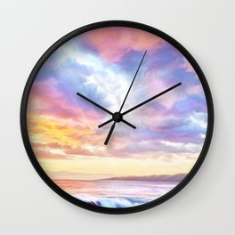 Calm before a storm Wall Clock