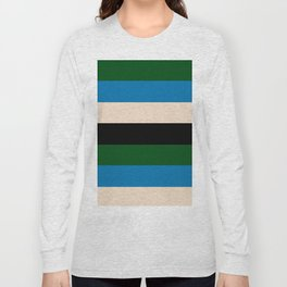 Color Stripe _003 Long Sleeve T-shirt