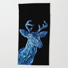 Аmazing deer head Beach Towel