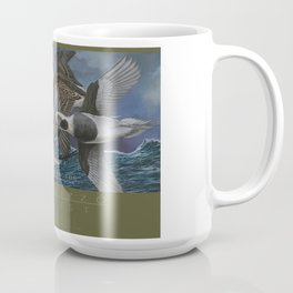 Bay Racers Old Squaw long tail ducks Coffee Mug