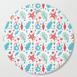Lovely Christmas Pattern Cutting Board