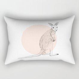Baby Kangaroo Rectangular Pillow