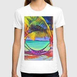 Beach with Hammock T-shirt