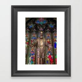 Saint Pio Framed Art Print
