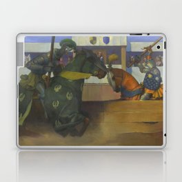 A Medieval Knights Jousting Tournament Laptop & iPad Skin
