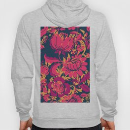 Boho Style No2, Floral pattern Hoody