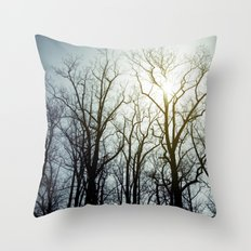 treeline* Throw Pillow