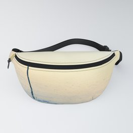 Freezing cold weather on a very calm day Fanny Pack