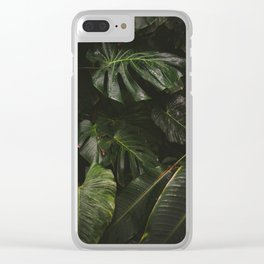 Botanic Garden Clear iPhone Case