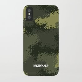 MPat Camouflage Pattern iPhone Case