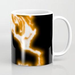 Neon flame abstract Coffee Mug