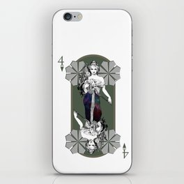 Doble or nothing iPhone Skin
