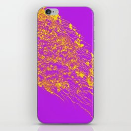 Decoration -Yallow- Lilac iPhone Skin