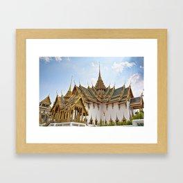 Thailand - Bangkok, Grand Palace Framed Art Print