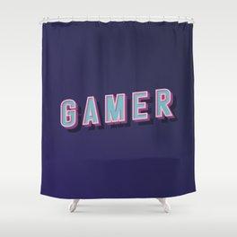 Gamer I Shower Curtain
