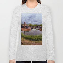 Black Country Living Museum Boat Yard Peaky Blinders Long Sleeve T-shirt