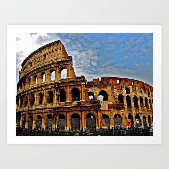 Do as the Roman's do Art Print