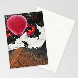 Girl and Bear - Desert Stationery Cards