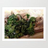 DiNic's Roast Pork Art Print