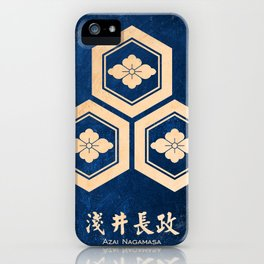 azai nagamasa kamon iPhone Case