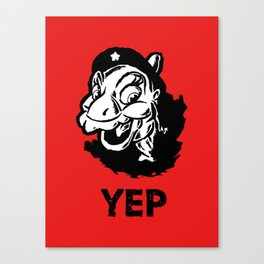 Ducky Guevara (Yep Yep Yep - Land Before Time) Canvas Print