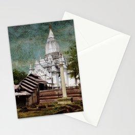 Old Whitewashed Lemyethna Temple Stationery Cards