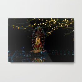 The Ferris Wheel 1 Metal Print