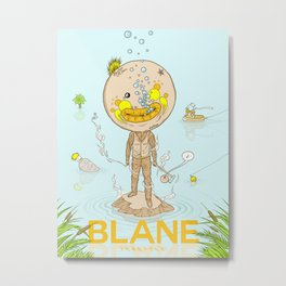 Blane Throttle Metal Print