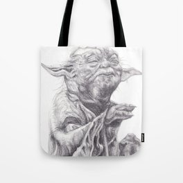 Yoda sketch Tote Bag