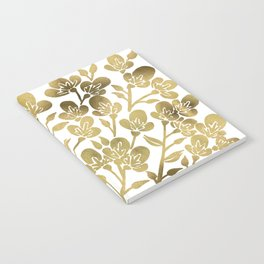 Cherry Blossoms – Gold Palette Notebook