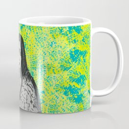 neon girl Coffee Mug