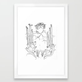 Out Of Our Hands Framed Art Print