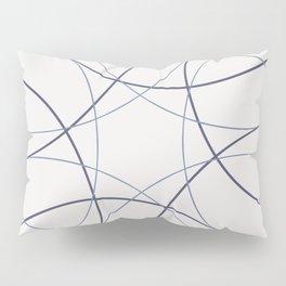Purple circles Pillow Sham