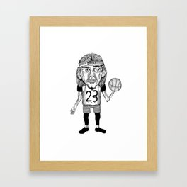 INK BALLER Framed Art Print