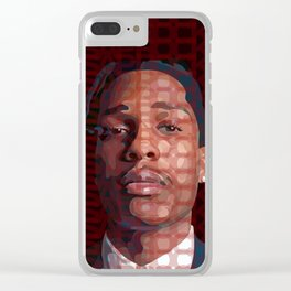 ASAP ROCKY Clear iPhone Case