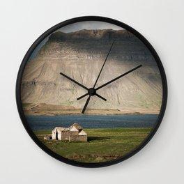 Kirkjufell #1 Wall Clock
