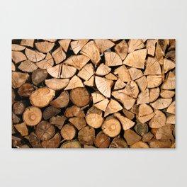 Wood Profile Canvas Print