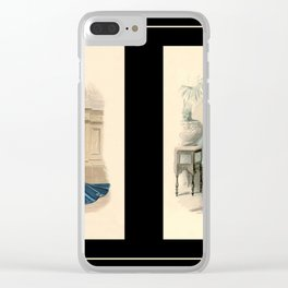 Victorian Dress 12 Clear iPhone Case