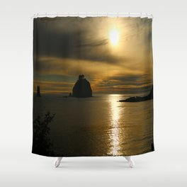 Before The Day Is Out Shower Curtain