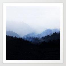 Woods 5  Art Print