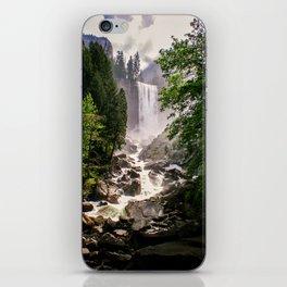 Yosemite Waterfall iPhone Skin