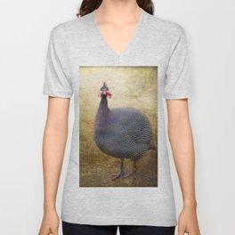 I love Guinea Fowl! Unisex V-Neck